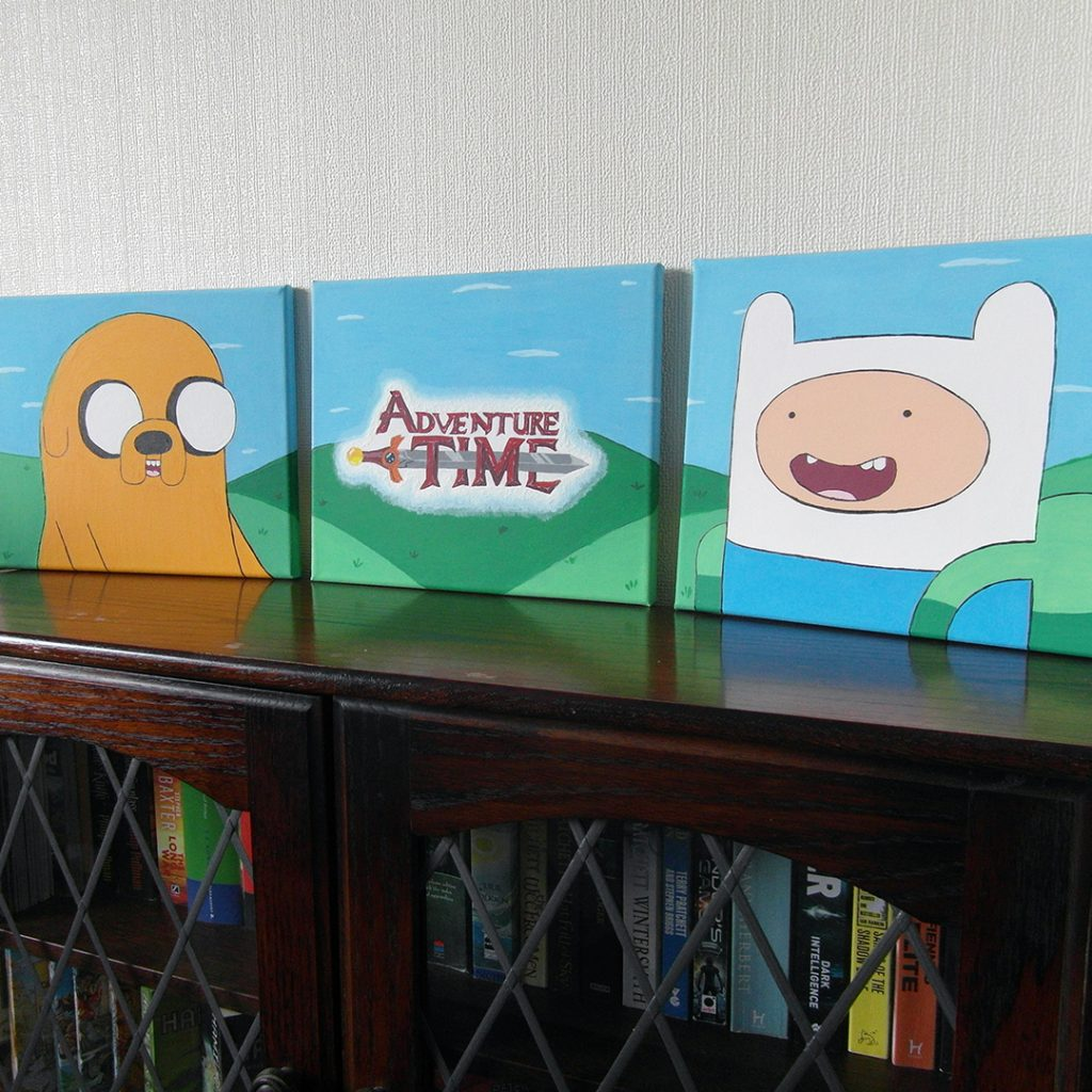 Adventure Time Canvasses